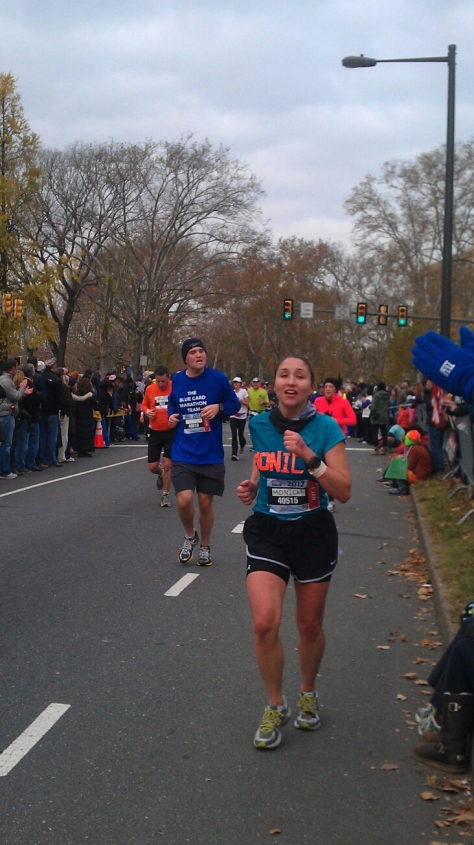Dead but killing it in 2012 at mile 25.